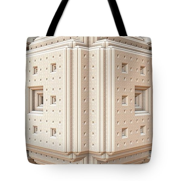 The White Room Tote Bag by Lyle Hatch