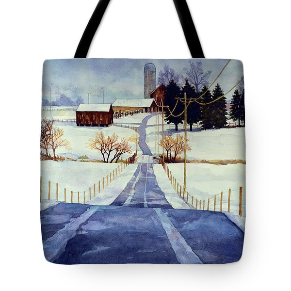 The White Season Tote Bag