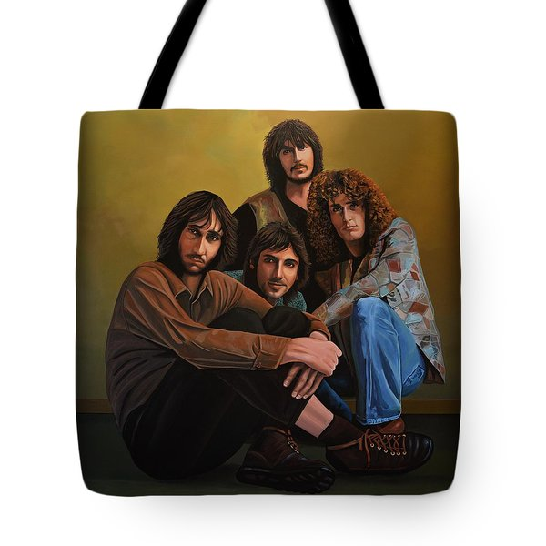 The Who Tote Bag by Paul Meijering