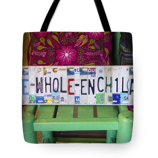 The Whole Enchilada Tote Bag