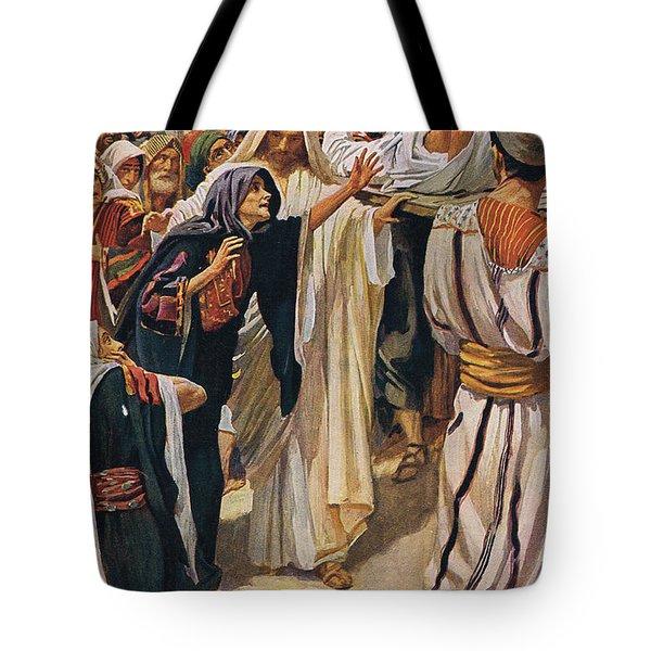 The Widow Of Nain Tote Bag
