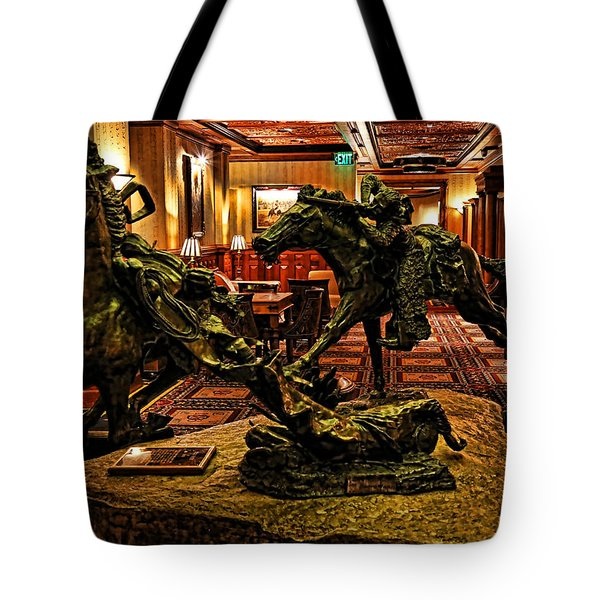 The Widowmaker 1 Tote Bag by Judy Vincent