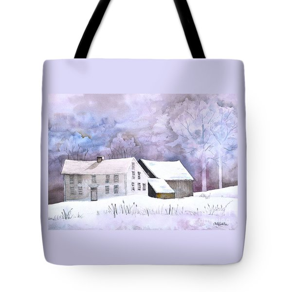 The Wilder Homestead Tote Bag by Sally Rice