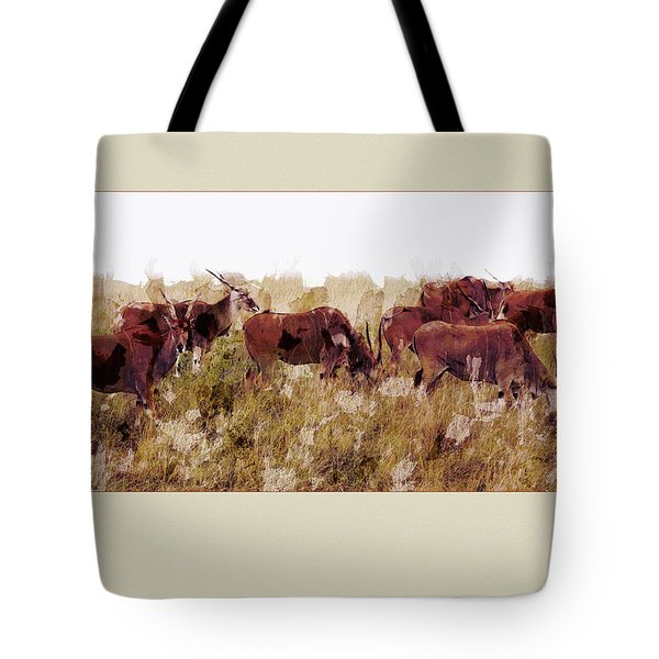 The Wilds Tote Bag by Ron Jones