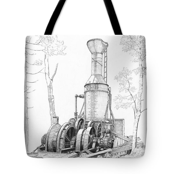 The Willamette Steam Donkey Tote Bag