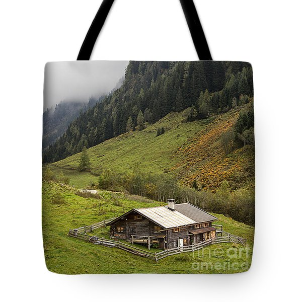 The Wimmertal In Tirol Tote Bag