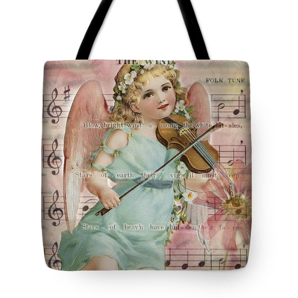 Tote Bag featuring the photograph The Wind  by Sandra Foster