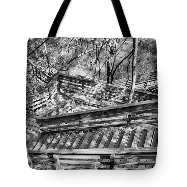 The Winding Stairs Tote Bag