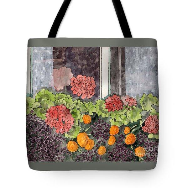 The Window Box Tote Bag by LeAnne Sowa