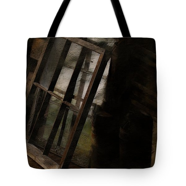 The Window Shop Tote Bag by Ron Jones