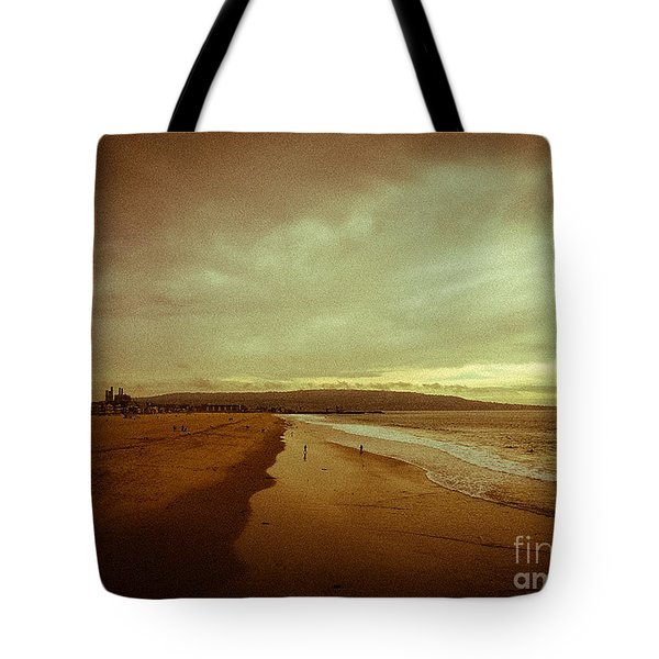 The Winter Pacific Tote Bag by Fei A