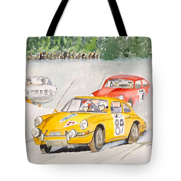 The Winter Rally Tote Bag