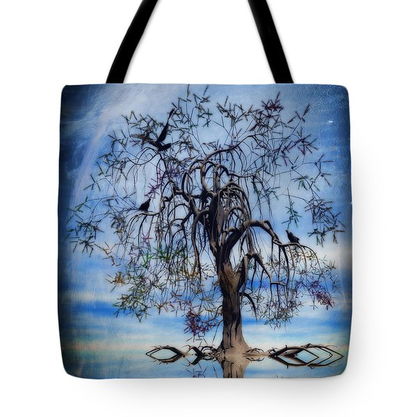 The Wishing Tree Tote Bag by John Edwards