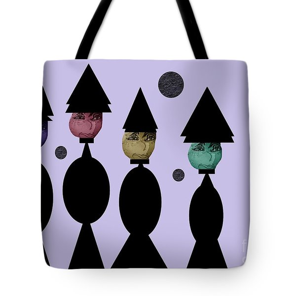 The Witch Club Tote Bag by Ann Calvo