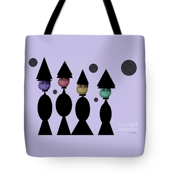 The Witch Club Tote Bag