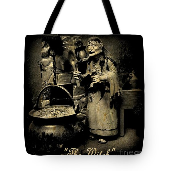 The Witch Tote Bag by John Malone