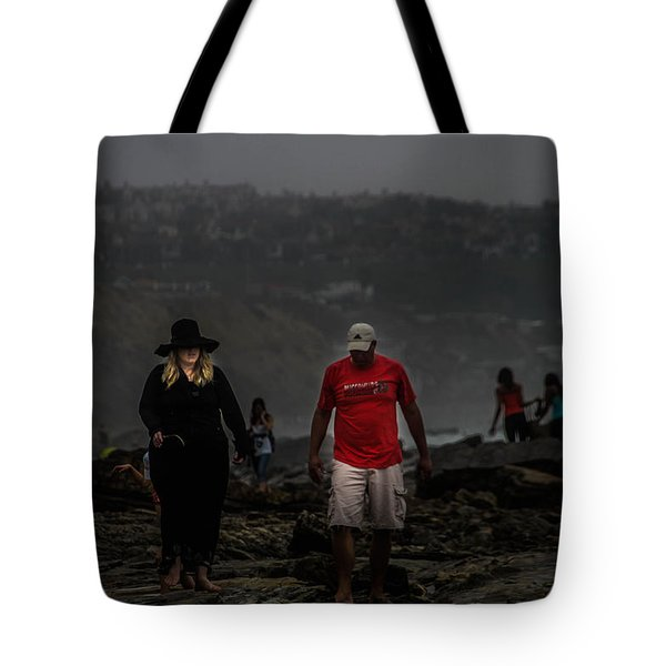 The Witch On The Beach Tote Bag