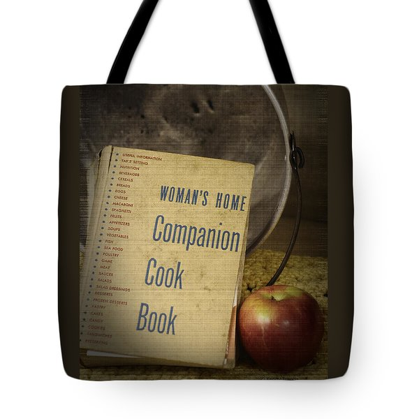 The Womans Home Companion Tote Bag by Kenny Francis