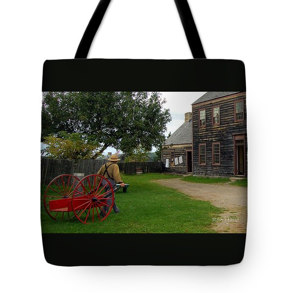 The Wood Hauler Tote Bag by Ron Haist