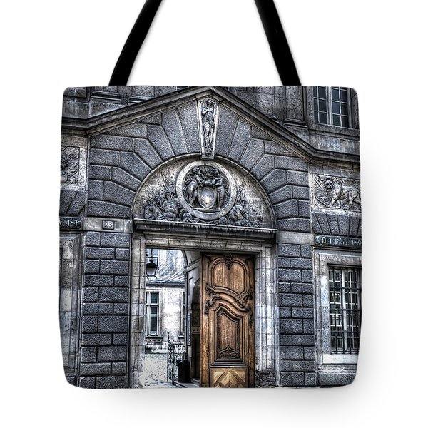 The Wooden Door Tote Bag