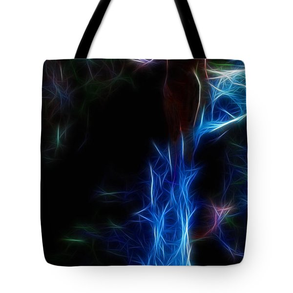 The Woods Are Lovely Dark And Deep Tote Bag