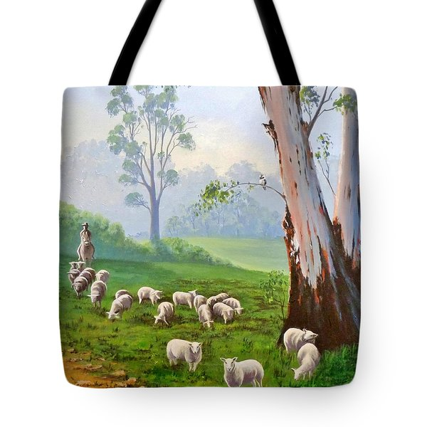 The Wool Road Tote Bag by Anne Gardner