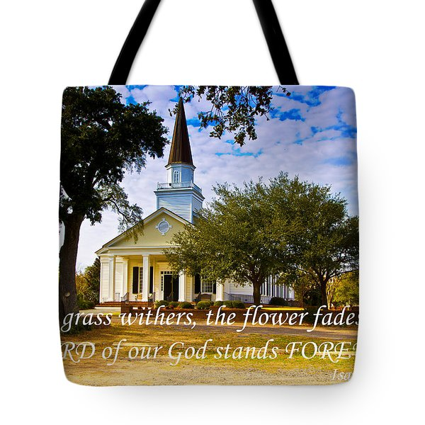 The Word Of God Stands Tote Bag