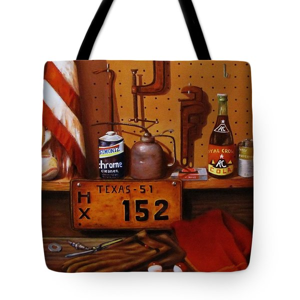 The Workshop Tote Bag by Gene Gregory