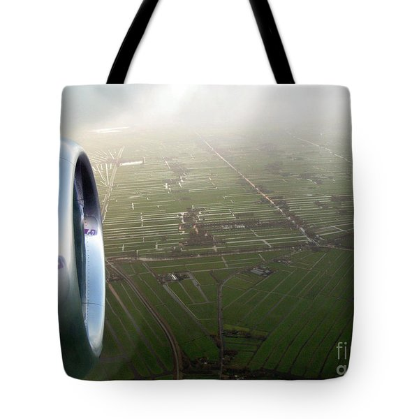 The World From Above. Holland Tote Bag by Ausra Huntington nee Paulauskaite