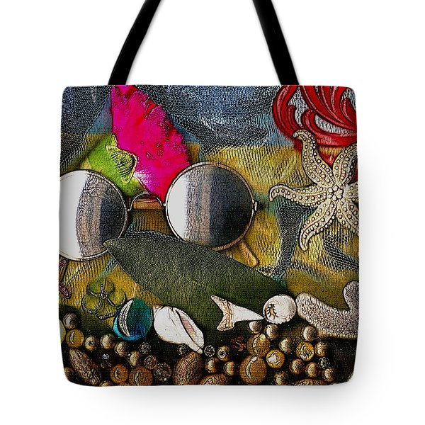 The World Is So Wonderful A Must See Popart Tote Bag by Pepita Selles
