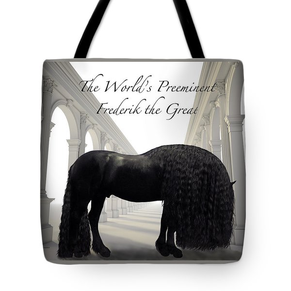 The Worlds Preeminent Frederik The Great Tote Bag
