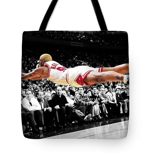 The Worm Dennis Rodman Tote Bag