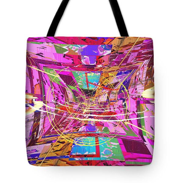 The Writing On The Wall 17 Tote Bag by Tim Allen