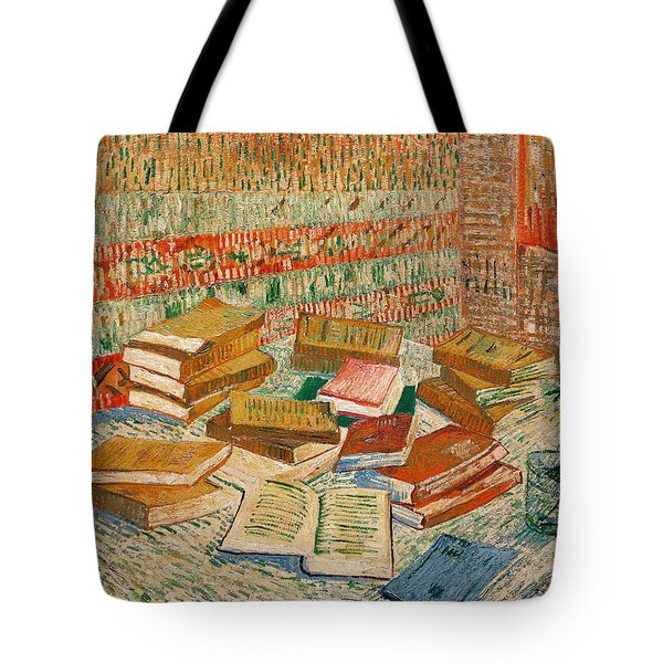 The Yellow Books Tote Bag by Vincent Van Gogh