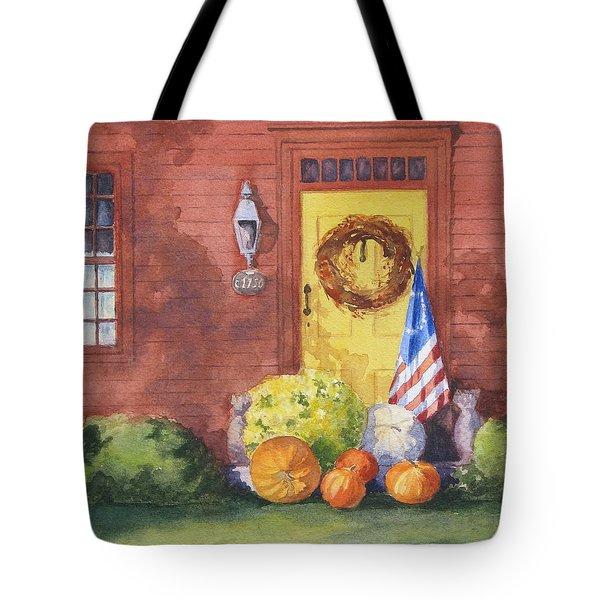 The Yellow Door Tote Bag