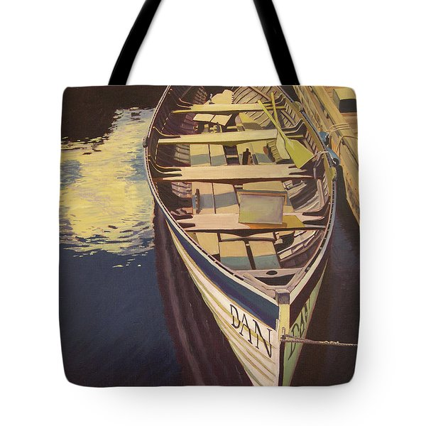 The Yellow Paddle Tote Bag by Thu Nguyen