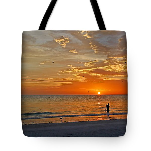 The Young Fisherman Tote Bag by HH Photography of Florida