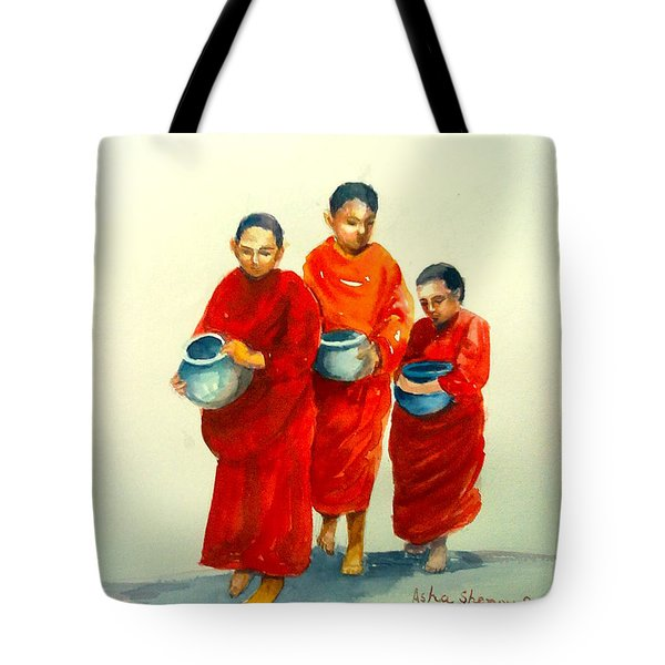 The Young Monks Tote Bag