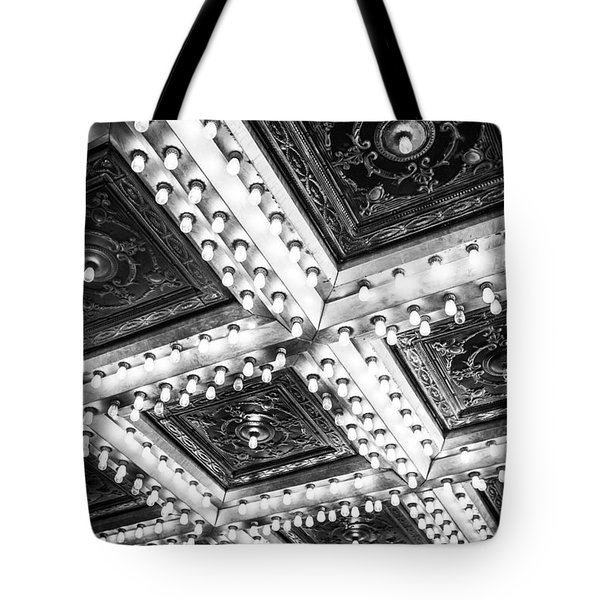 Theater Lights Tote Bag by Melinda Ledsome