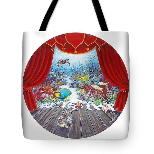 Theater Of The Sea Tote Bag
