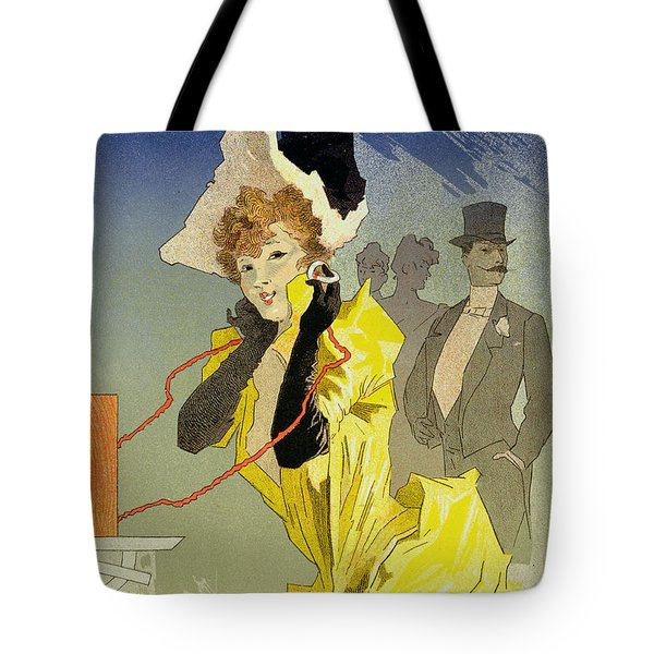Theatrophone Poster Tote Bag