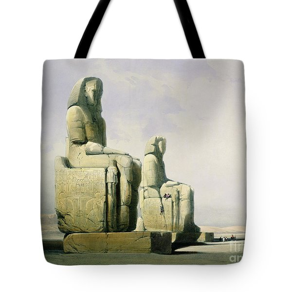 Thebes Tote Bag by David Roberts