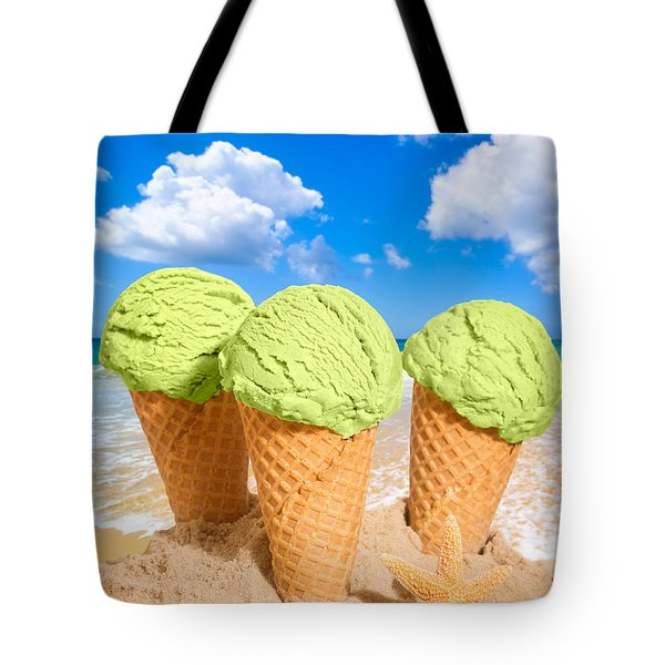 Thee Minty Icecreams Tote Bag