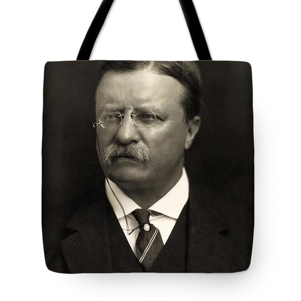Theodore Roosevelt Tote Bag by Unknown