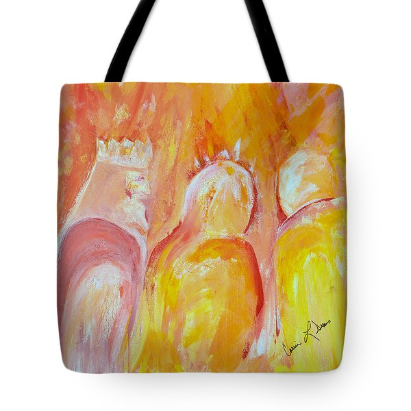 there I AM Tote Bag by Cassie Sears