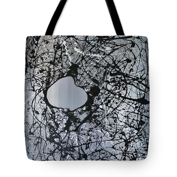 There Is A Hole In The Bucket Tote Bag by Michael Cross