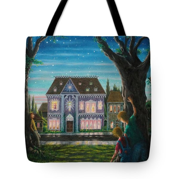 There Is A House In New Orleans Tote Bag