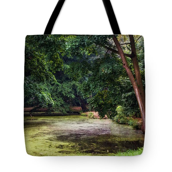 There Is Always A Hope. Park Of De Haar Castle Tote Bag by Jenny Rainbow