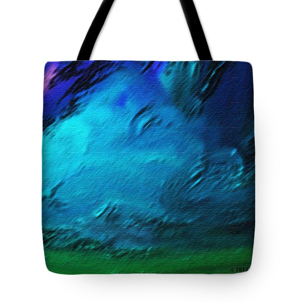 There Is Always Sky Tote Bag by Lenore Senior
