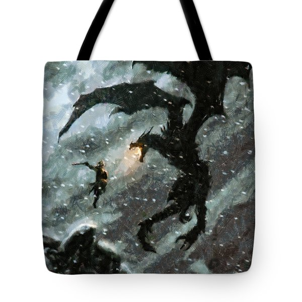 There Is No Fear Tote Bag